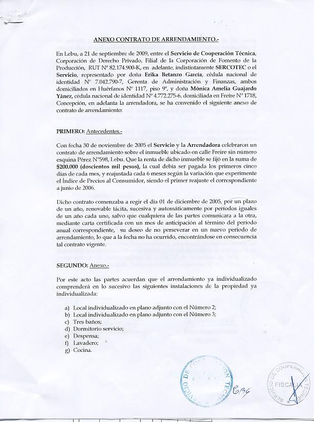 Gobiernotransparente otras compras y adquisiciones for Contrato de arrendamiento de oficina